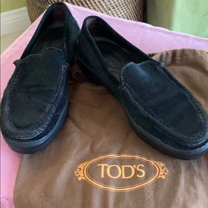 Tod's real pony hair loafers  5.5 super rare find!